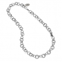 Base Collana Rolò Luxury 50 cm in Argento 925