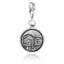 Charm Colosseo in Argento 925