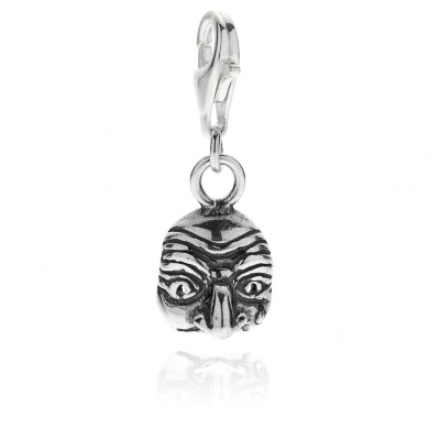 Pulcinella Charm in Sterling Silver