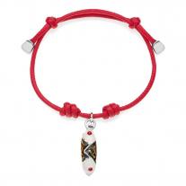 Cannoli Bracelet in Sterling Silver & Enamel