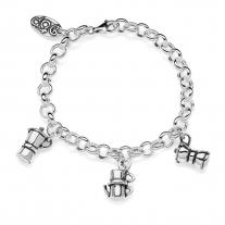 Moka Premium Bracelet in Sterling Silver