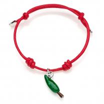 Cypress Tree Bracelet in Sterling Silver & Enamel