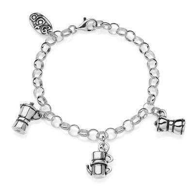 Moka Light Bracelet in Sterling Silver