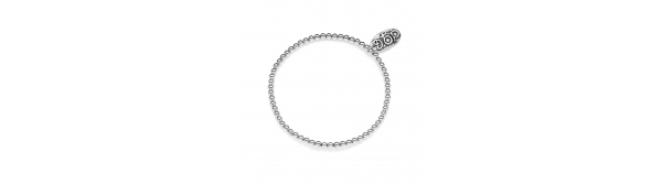 Boule Elastic Bracelet in Sterling Silver