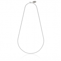 Boule Necklace 45 cm in Sterling Silver