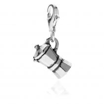 Moka Charm in Sterling Silver