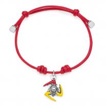 Trinacia Bracelet in Sterling Silver & Enamel