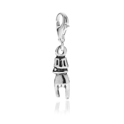 Corna Charm in Sterling Silver