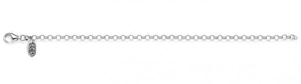 Rolo Mini Bracelet in Sterling Silver