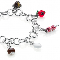 Abruzzo Luxury Bracelet in Sterling Silver & Enamel