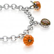 Lombardy Premium Bracelet in Sterling Silver & Enamel