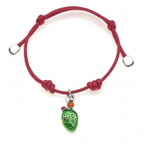 Prickly Pear Bracelet in Sterling Silver & Enamel