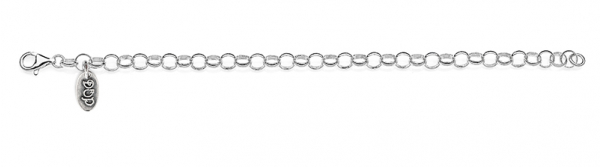 Rolo Light Bracelet in Sterling Silver