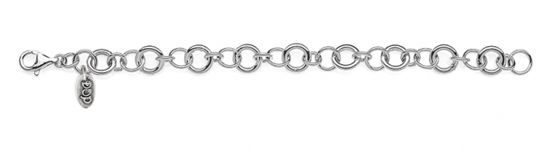 Rolo Luxury Bracelet in Sterling Silver