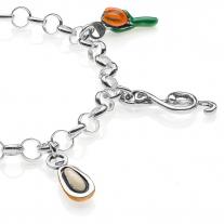 Liguria Light Bracelet - Sterling Silver and Enamel