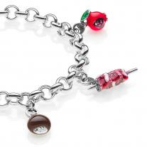 Abruzzen Premium Armband in Silber und Emaille