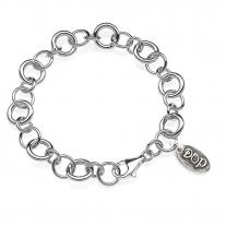 Silberne Luxus-Armband-Basis
