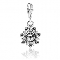 Presentosa Charm in Silber