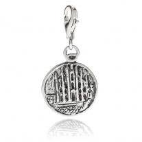 Mailand Cathedral Charm in Silber
