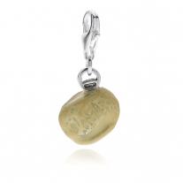 Charm Orecchietta in Silber und Emaille