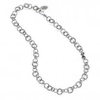Silber Luxus Halskette Basis 50 cm