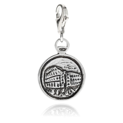 Colosseo Charm in Silber