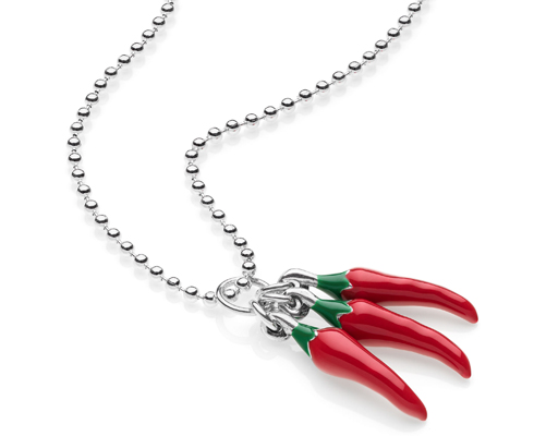 spicy peppers necklaces