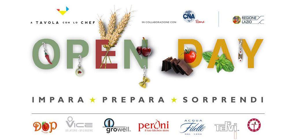 Impara l 39 arte culinaria e vinci un charm dop open day a - A tavola con lo chef ...
